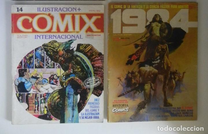 Cómics: LOTAZO GRAN LOTE DE COMICS ZONA 84 TOTEM EL COMIX INTERNACIONAL 1984 CÓMIC PARA ADULTOS JOYA FOSTER - Foto 5 - 205104512