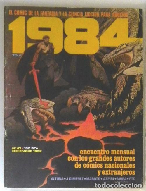 Cómics: LOTAZO GRAN LOTE DE COMICS ZONA 84 TOTEM EL COMIX INTERNACIONAL 1984 CÓMIC PARA ADULTOS JOYA FOSTER - Foto 6 - 205104512