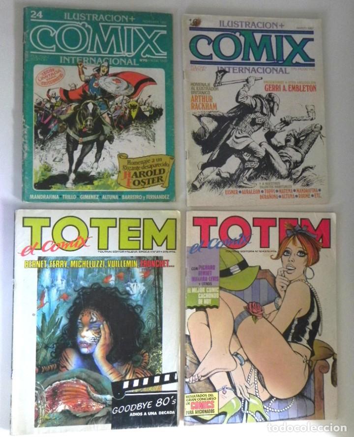 Cómics: LOTAZO GRAN LOTE DE COMICS ZONA 84 TOTEM EL COMIX INTERNACIONAL 1984 CÓMIC PARA ADULTOS JOYA FOSTER - Foto 3 - 205104512