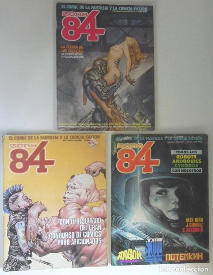 Cómics: LOTAZO GRAN LOTE DE COMICS ZONA 84 TOTEM EL COMIX INTERNACIONAL 1984 CÓMIC PARA ADULTOS JOYA FOSTER - Foto 4 - 205104512