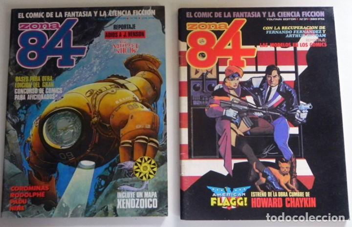 Cómics: LOTAZO GRAN LOTE DE COMICS ZONA 84 TOTEM EL COMIX INTERNACIONAL 1984 CÓMIC PARA ADULTOS JOYA FOSTER - Foto 2 - 205104512