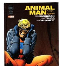 Cómics: ANIMAL MAN 1 : EL ZOO HUMANO - ECC / DC BLACK LABEL / BIBLIOTECA GRANT MORRISON / NUEVO DE EDITORIAL. Lote 205139503