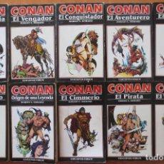 Cómics: CONAN NOVELAS EDICIONES FORUM. Lote 205185943