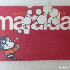 Cómics: MAFALDA. QUINO. Nº 10. EDITORIAL LUMEN. BARCELONA. AÑOS 80.. Lote 205286693