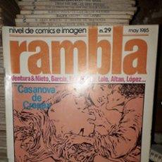 Cómics: LOTE DE 5 COMICS AÑOS 80. Lote 205302257