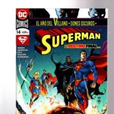 Cómics: SUPERMAN 14 (93) - ECC / DC / GRAPA / BENDIS. Lote 191615547