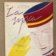 Cómics: CON LA MOSCA DETRÁS DE LA OREJA N° 4 (SANTANDER 1984). HISTÓRICO FANZINE ORIGINAL; HISTORIETAS,.... Lote 205527610