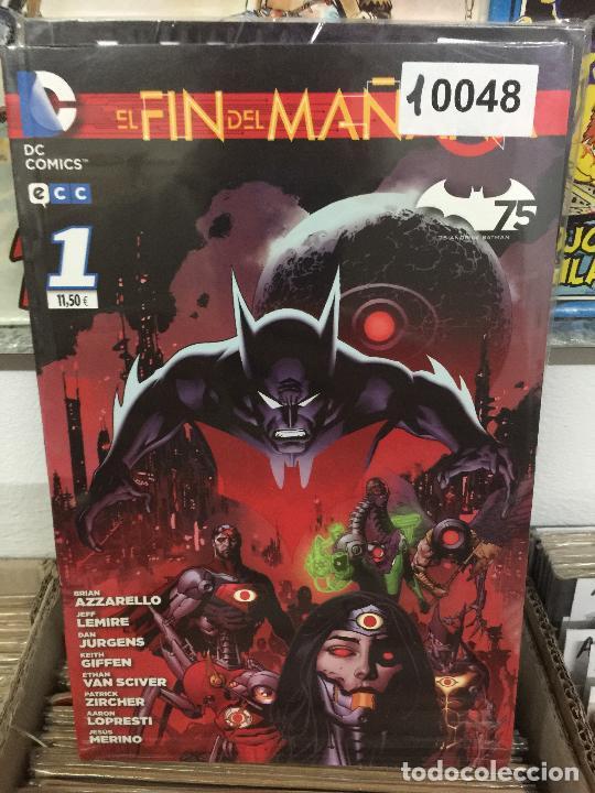 ECC BATMAN - EL FIN DEL MAÑANA - NUMERO 1 Y 2 MUY BUEN ESTADO (Tebeos y Comics - Comics otras Editoriales Actuales)