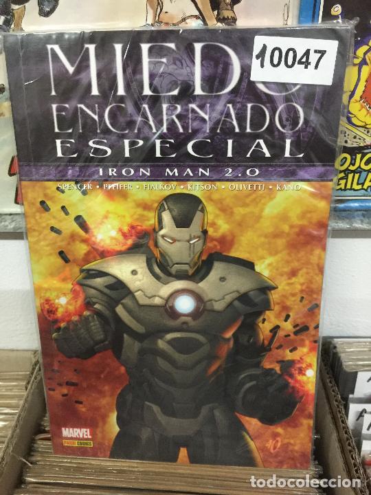 PANINI MIEDO ENCARNADO ESPECIAL - IRON MAN 2.0 MUY BUEN ESTADO (Tebeos y Comics - Comics otras Editoriales Actuales)