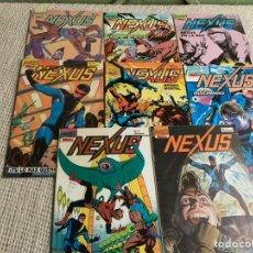 Cómics: NEXUS, LOTE DE 10 EJEMPLARES - EDITA : FIRST COMICS 1987. Lote 205560132
