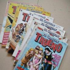 Cómics: LOTE DE 8 CAPITÁN TRUENO 6-13. Lote 205574852