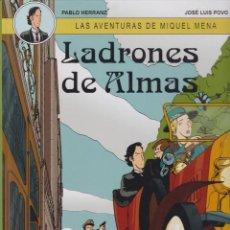 Cómics: LAS AVENTURAS DE MIQUEL MENA - COMPLETA DOS TOMOS. Lote 205667233