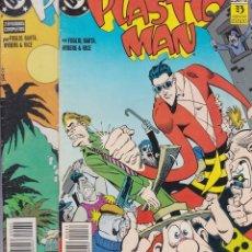Cómics: PLASTIC MAN - UNIVERSO DC - COMPLETA DOS EJEMPLARES. Lote 205668303