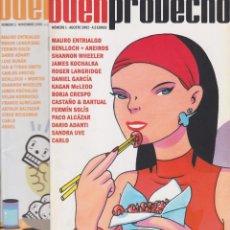 Cómics: BUEN PROVECHO NºS 1 Y 2. Lote 205669386