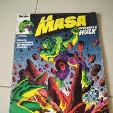 Cómics: LA MASA 7. Lote 205693913