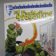 Cómics: COLECCION COMPLETA 4 FANTASTICOS / BIBLOTECA MARVEL / 35 NUMEROS. Lote 205698730