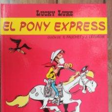 Cómics: LUCKY LUKE. EL PONY EXPRESS. SALVAT. Lote 205726838