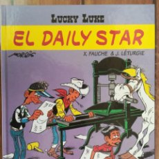 Cómics: LUCKY LUKE. EL DAILY STAR. SALVAT. Lote 205727203