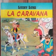 Cómics: LUCKY LUKE. LA CARAVANA. SALVAT. Lote 205727620