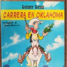 Cómics: LUCKY LUKE. CARRERA EN OKLAHOMA. SALVAT. Lote 205727778