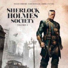 Cómics: CÓMICS. SHERLOCK HOLMES SOCIETY 3 - SYLVAIN CORDURIÉ/DETULLIO/FATTORI (CARTONÉ). Lote 205744341