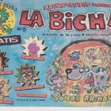 Cómics: EXTREMODURO PRESENTA LA BICHA Nº 0 - EJEMPLAR ÚNICO. Lote 205758818