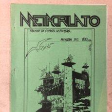 Cómics: METACRILATO N° 5 (BILBAO 1984). HISTÓRICO FANZINE ORIGINAL; ROBER GARAY, TXEMA A., PEDRO RIVERO,.... Lote 205790942