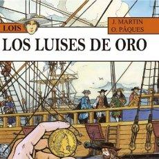 Cómics: LOIS Nº 2 LOS LUISES DE ORO (J. MARTIN / O. PAQUES) NETCOM2 - CARTONE - IMPECABLE - SUB01M. Lote 205799276