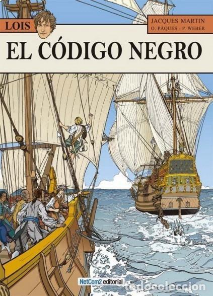 LOIS Nº 3 EL CODIGO NEGRO (J. MARTIN / O. PAQUES) NETCOM2 - CARTONE - IMPECABLE - SUB01M (Tebeos y Comics - Comics otras Editoriales Actuales)
