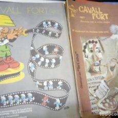 Cómics: 11 NUMEROS DE LA REVISTA CAVALL FORT - ANYS 70 - VEGEU NUMEROS A LA DESCRIPCIO. Lote 205819441
