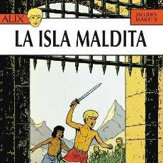 Cómics: ALIX Nº 3 LA ISLA MALDITA (JACQUES MARTIN) NETCOM2 - CARTONE - IMPECABLE - SUB01M. Lote 205822113