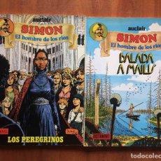 Cómics: SIMÓN.EL HOMBRE DE LOS RÍOS. Lote 205822350