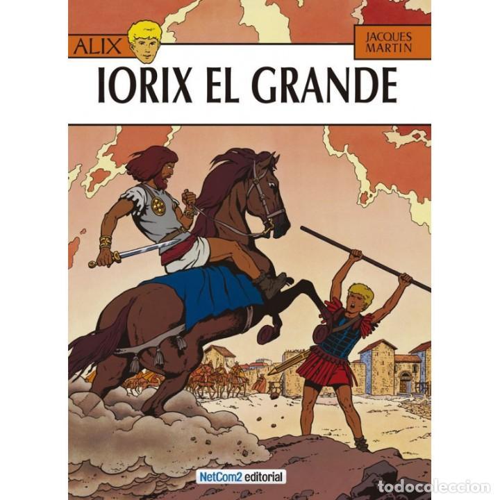 ALIX Nº 10 IORIX EL GRANDE (JACQUES MARTIN) NETCOM2 - CARTONE - IMPECABLE - SUB01M (Tebeos y Comics - Comics otras Editoriales Actuales)