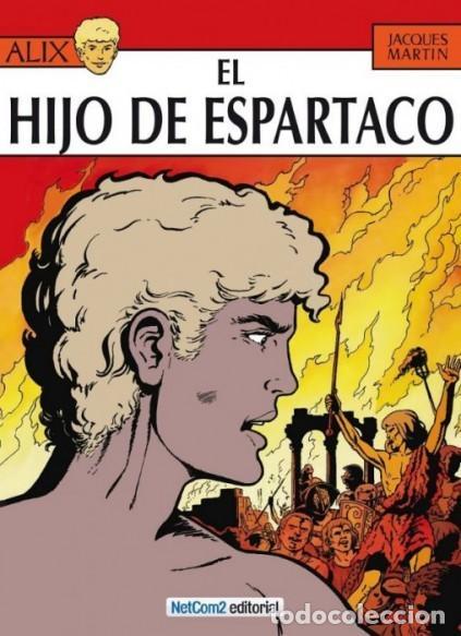 ALIX Nº 12 EL HIJO DE ESPARTACO (JACQUES MARTIN) NETCOM2 - CARTONE - IMPECABLE - SUB01M (Tebeos y Comics - Comics otras Editoriales Actuales)