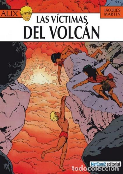 ALIX Nº 14 LAS VICTIMAS DEL VOLCAN (JACQUES MARTIN) NETCOM2 - CARTONE - IMPECABLE - SUB01M (Tebeos y Comics - Comics otras Editoriales Actuales)