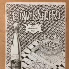 Cómics: EL INVENTARIO N° 3 (LLERENA - BADAJOZ 1984). HISTÓRICO FANZINE ORIGINAL; COMICS, MÚSICA (GABINETE CA. Lote 205827585