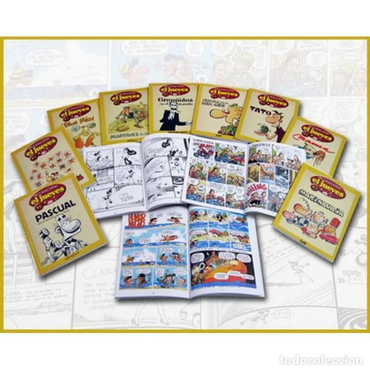 CLASICOS EL JUEVES COMPLETA 12 TOMOS - IMPECABLE - SUB01M (Tebeos y Comics Pendientes de Clasificar)