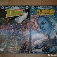 Cómics: 2 TOMOS ECC / DC COMICS RENACIMIENTO. Lote 205830965