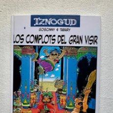 Cómics: IZNOGUD. LOS COMPLOTS DEL GRAN VISIR. RENÉ GOSCINNY Y JEAN TABARY. 2005. Lote 205868507