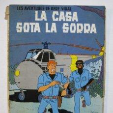 Cómics: LES AVENTURES DE PERE VIDAL-LA CASA SOTA LA SORRA-ANXANETA-COMIC ANTIGUO-VER FOTOS-(V-20.280). Lote 206180757