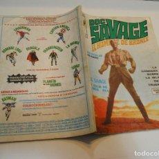 Cómics: DOC SAVAGE EL HOMBRE DE BRONCE-N°1,PRIMER NÚMERO, VERTICE, 1975,. Lote 206190952