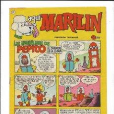 Cómics: AQUÍ MARILÍN AÑO 1963 Nº 21 - 22 - 23 - 25. SON ORIGINALES EDITADO POR IBERO MUNDIAL DE EDICIONES. Lote 206197033