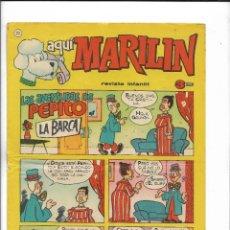 Cómics: AQUÍ MARILÍN AÑO 1963 Nº 23. ES ORIGINAL EDITADO POR IBERO MUNDIAL DE EDICIONES. Lote 206197280
