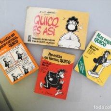 Cómics: 4 COMICS DE QUICO. Lote 206197455