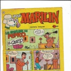 Cómics: AQUÍ MARILÍN AÑO 1963 Nº 25. ES ORIGINAL EDITADO POR IBERO MUNDIAL DE EDICIONES. Lote 206197542
