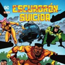 Cómics: ESCUADRON SUICIDA DE JOHN OSTRANDER 3 : VILLANOS - ECC / DC / TAPA DURA / NUEVO DE EDITORIAL. Lote 254042325