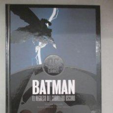 Cómics: BATMAN / EL REGRESO DEL CABALLERO OSCURO / FRANK MILLER / TAPA DURA / DC BLACK LABEL. Lote 206225707