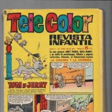 Cómics: TELE COLOR AÑO 1963 LOTE DE 12 TEBEOS SON ORIGINALES Y ESTÁN MUY NUEVOS EDITORIAL BRUGUERA.. Lote 206228346