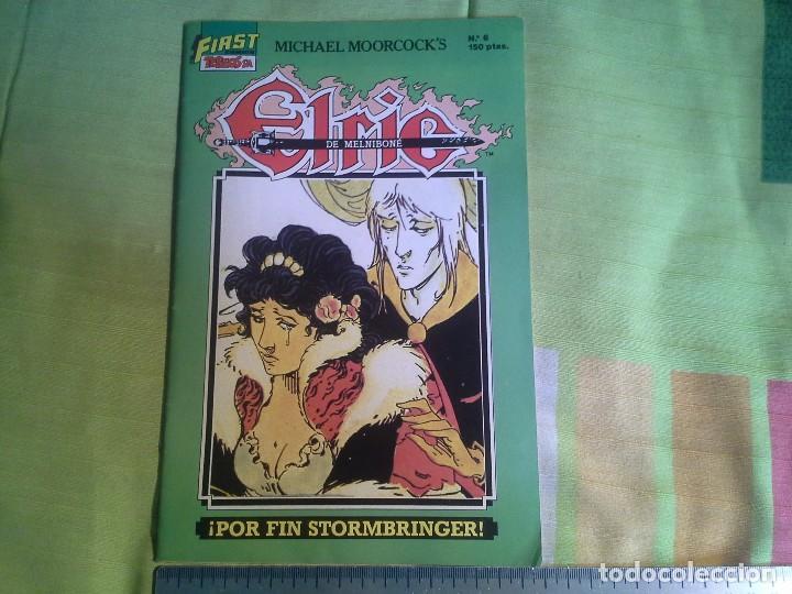 COMIC ELRIC DE MELNIBONE Nº 6 POR FIN STORMBRIAGER AÑO 1988 - MICHAEL MOORCOCK´S , FIRST TEBEOS S.A. (Tebeos y Comics - Comics otras Editoriales Actuales)