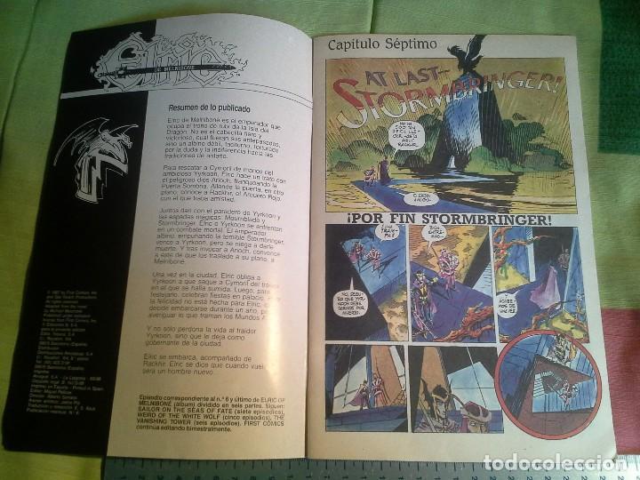 Cómics: comic elric de melnibone nº 6 por fin stormbriager año 1988 - michael moorcock´s , first tebeos s.a. - Foto 2 - 206262585